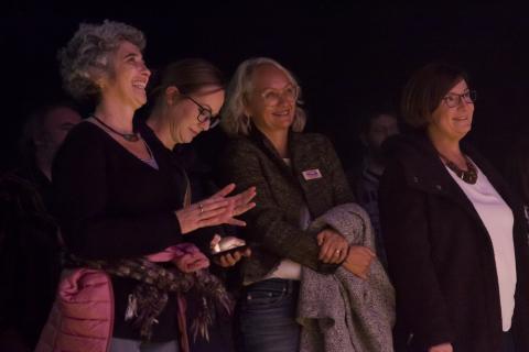 Public au concert C'est pour ton bien… Mamie !