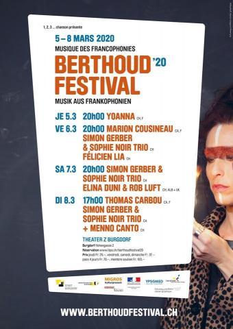 Yoanna Berthoud Festival