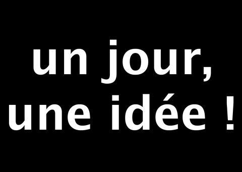 un jour, une idée, absolument.ch